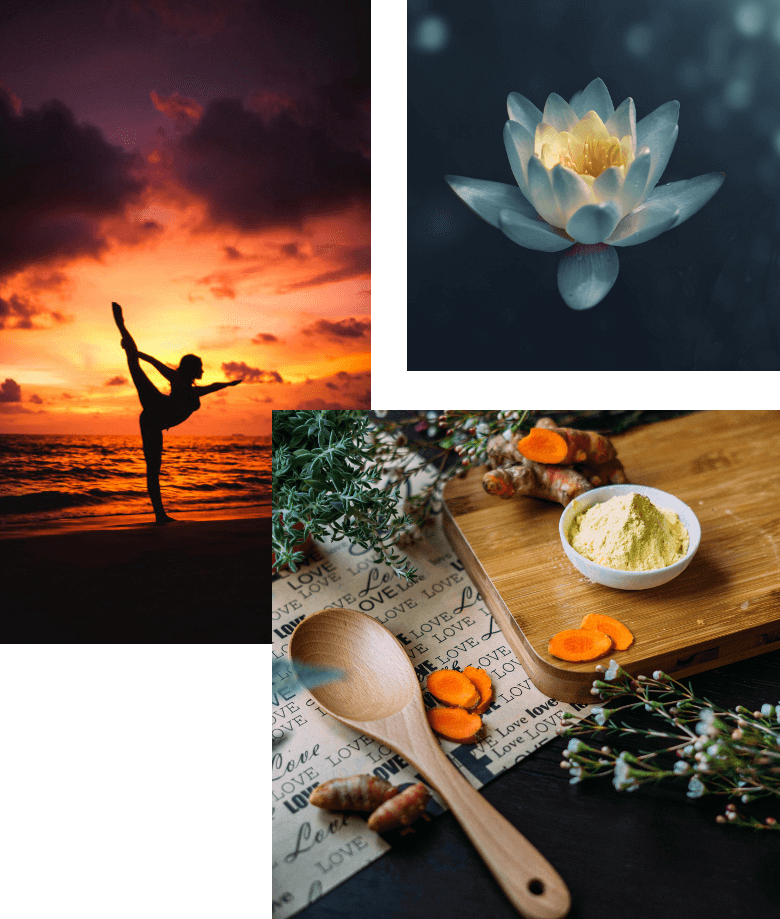 Yoga, Ayurveda, massage behandlingar